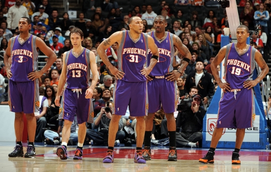 Phoenix Suns v Los Angeles Clippers